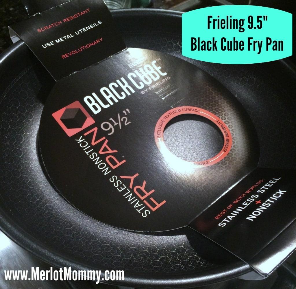 "Frieling 9.5"" Black Cube™ Fry Pan"