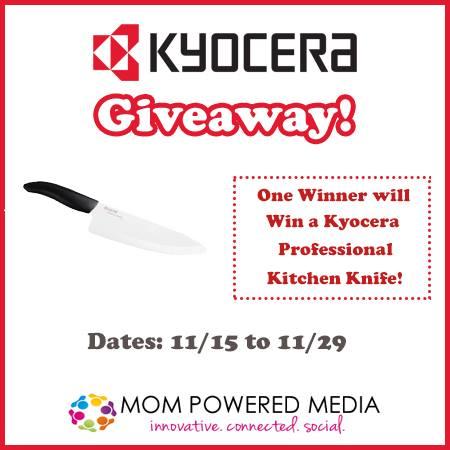 "Kyocera 8"" professional chef's knife"