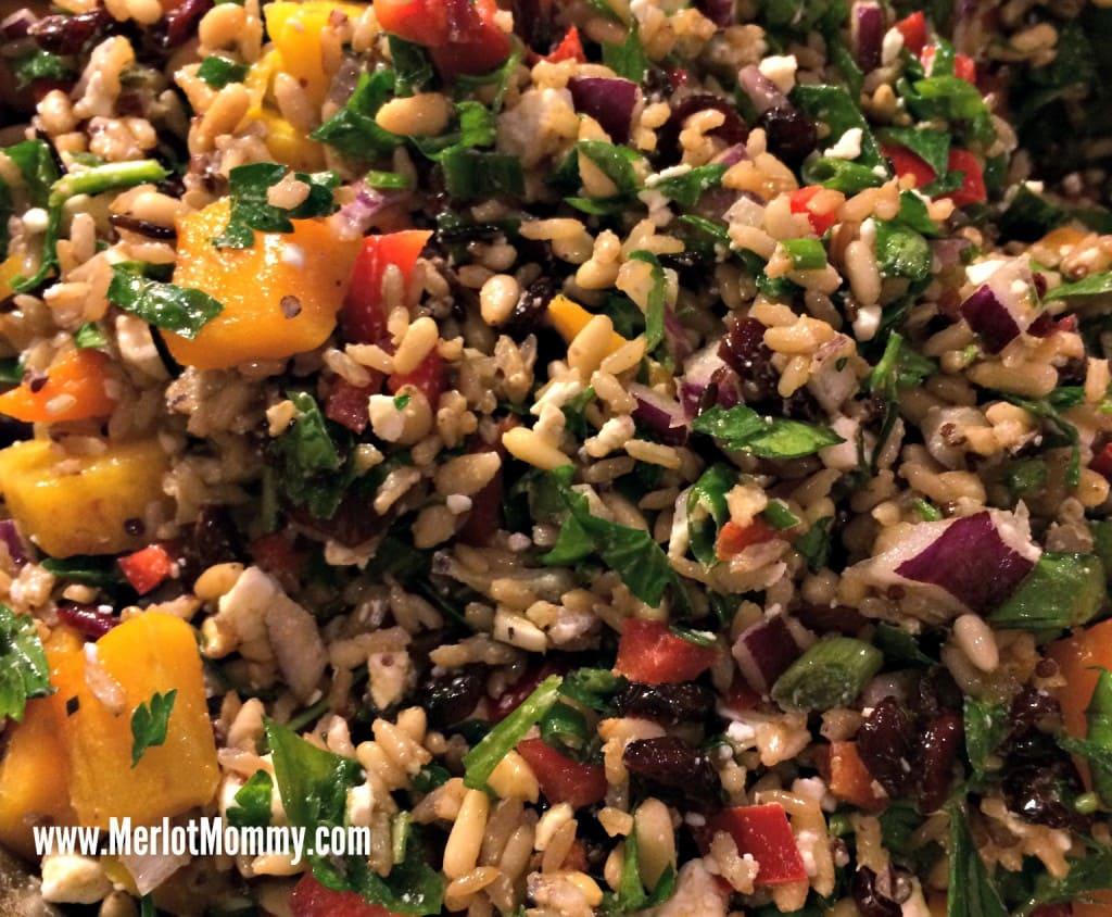 Momma Cuisine Johanna Cook Wild Rice Salad