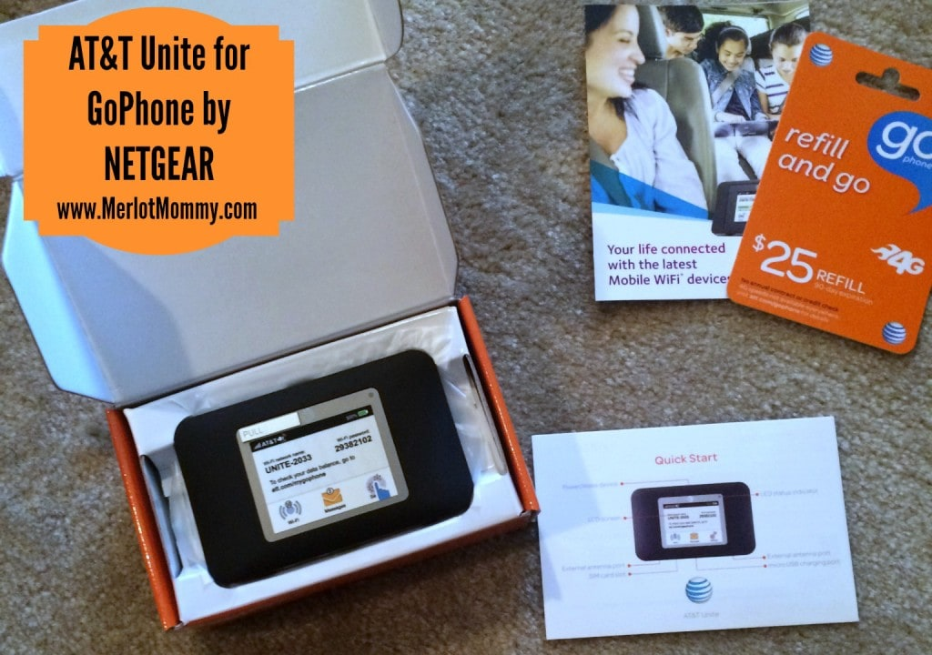AT&T Unite for GoPhone by NETGEAR WiFi Hotspot