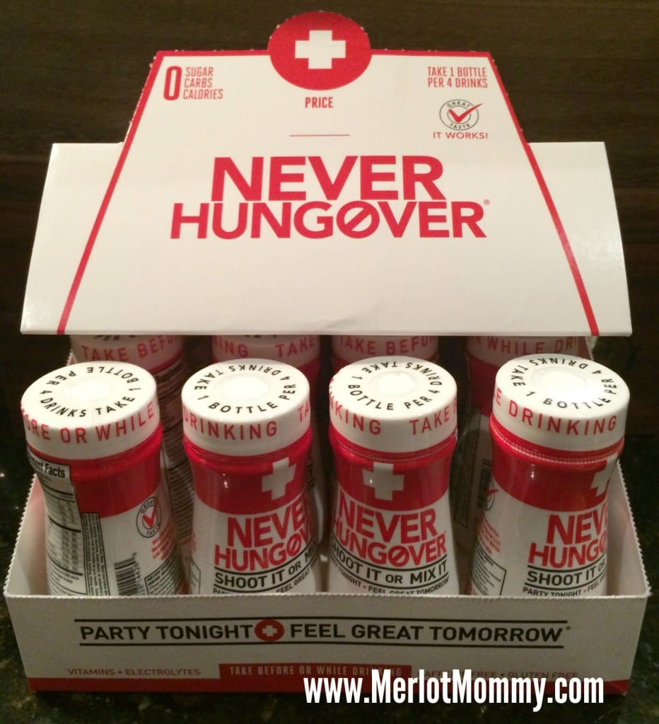 Never Hungover {Review}