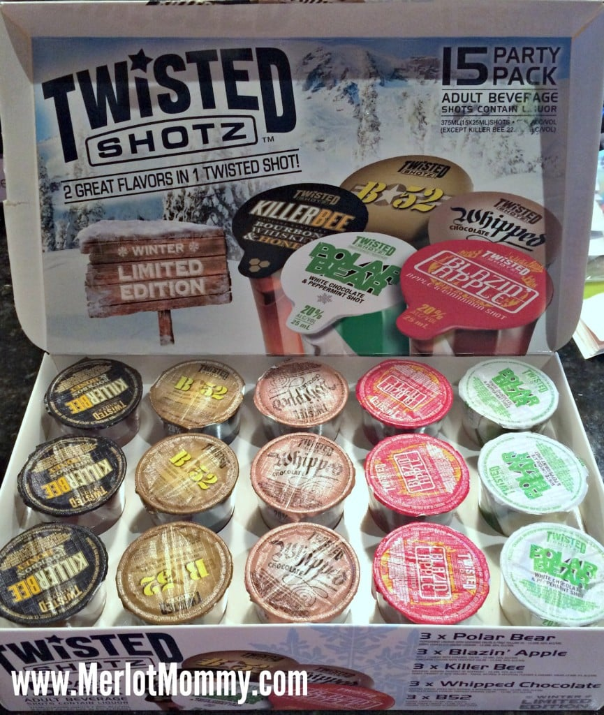 Bring Twisted Shotz to your Holiday Party