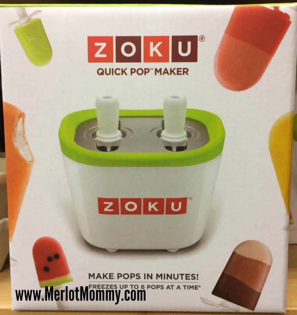 Zoku Quick Pop Maker Review and #Giveaway