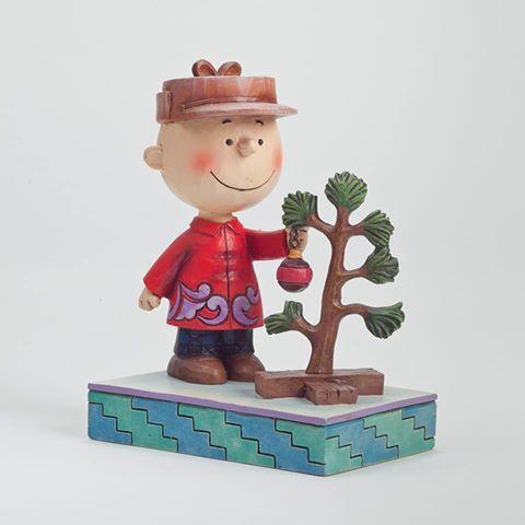 Charlie Brown and the Pathetic Tree figurine