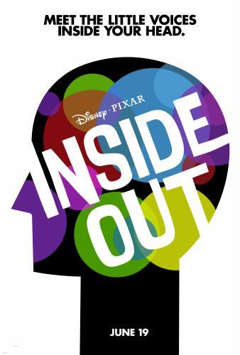 Disney • Pixar's Inside Out Teaser Poster