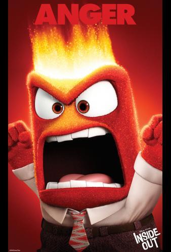 Disney • Pixar's Inside Out  Anger