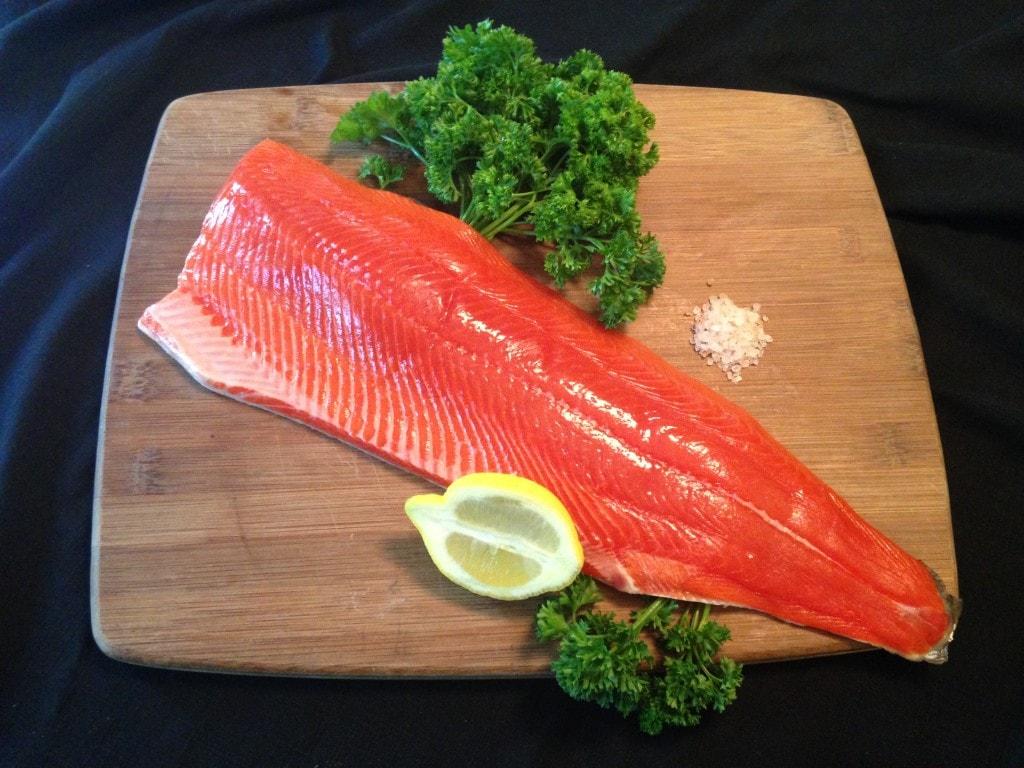 Wild Alaskan Salmon from the Kenai Red Fish Company