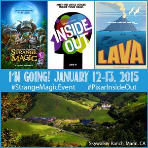 Strange Magic Event | Pixar Inside Out