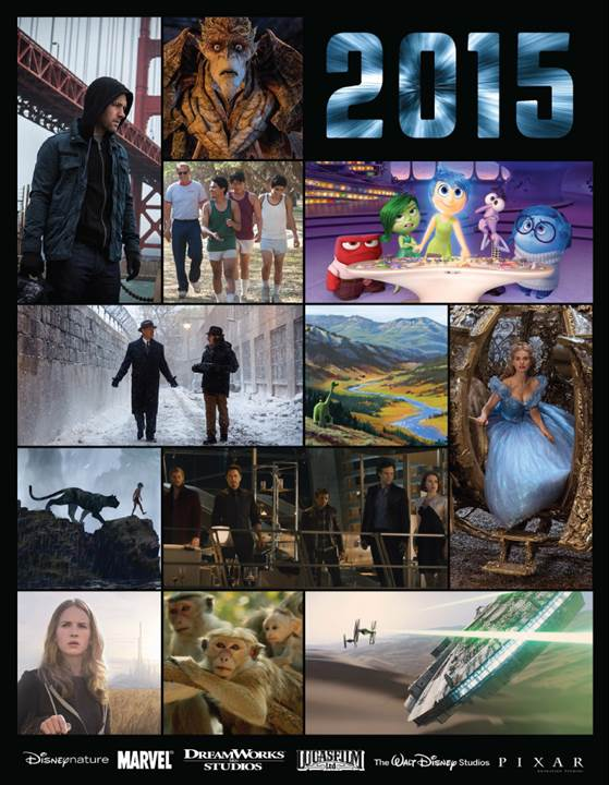 2015 Walt Disney Studios Motion Pictures Slate Announced