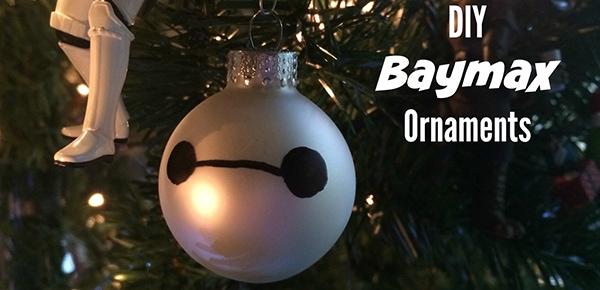 DIY Baymax Ornaments #BigHero6 #BaLaLaLaLa