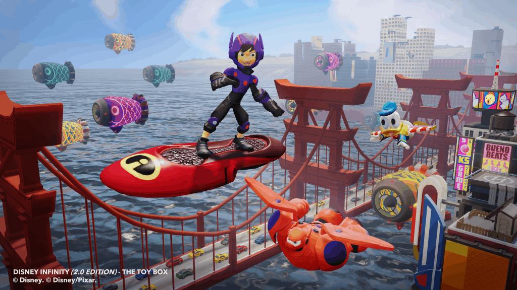 Big Hero 6 Toy Box in Disney Infinity 2.0