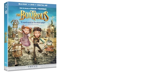 The Boxtrolls on Blue-Ray and DVD