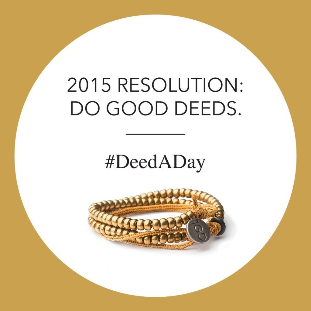 100 Good Deeds Bracelet movement #DeedaDay