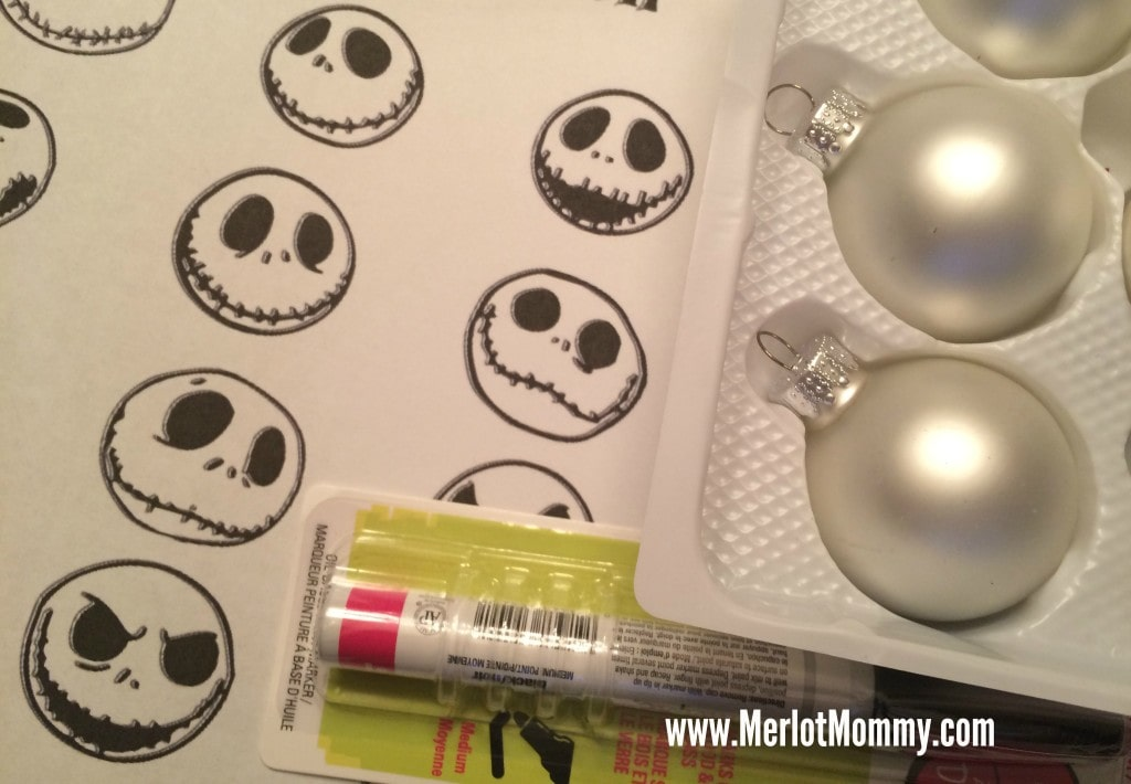 diy jack skellington ornaments jackskellington