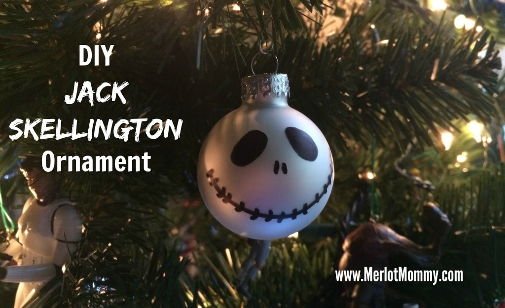 diy jack skellington ornaments jackskellington - Jack Skeleton Christmas Decorations