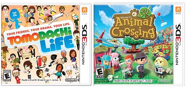 Games for Kids: Nintendo Tomodachi Life and Animal Crossing New Leaf #PlayNintendoCG #sponsored