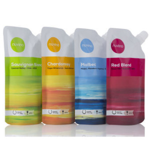 Nuvino 4-Pack Wine Pouches