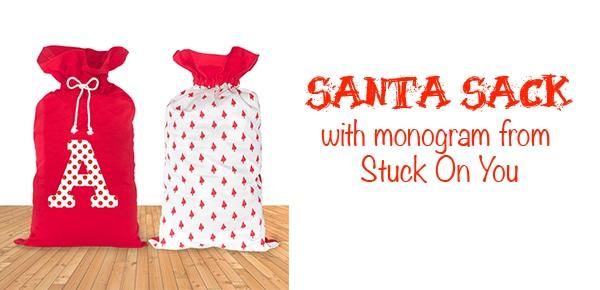 Personalized Santa Sacks Make Great Gifts #HH2014