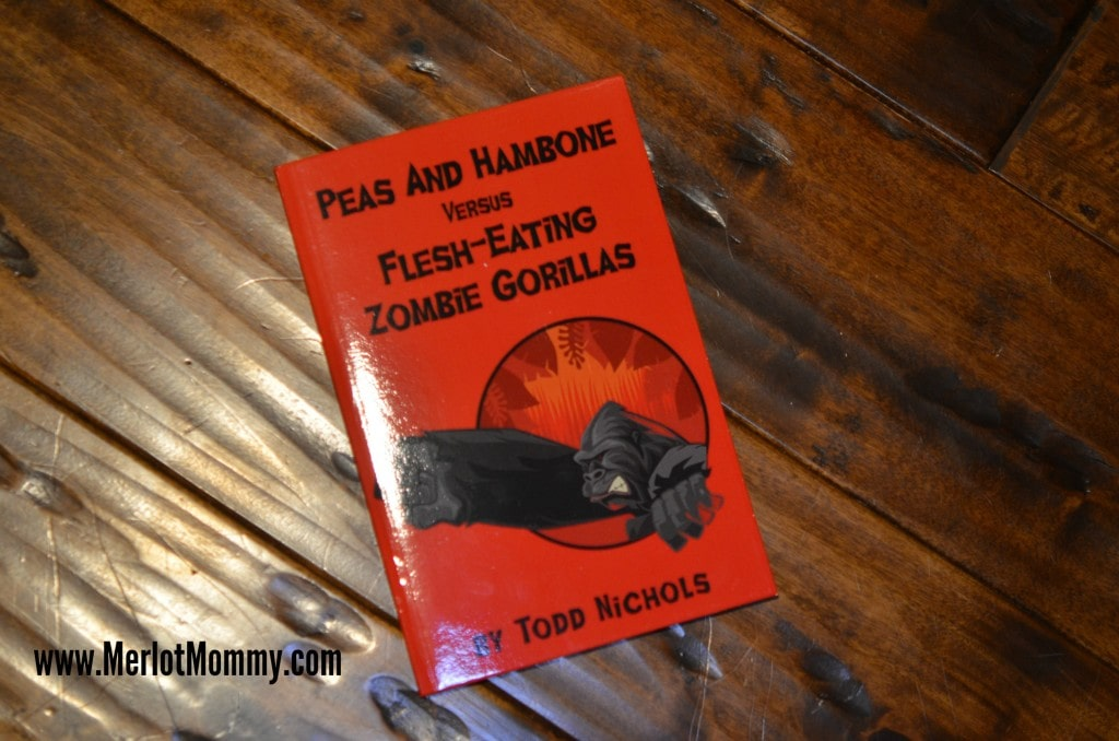 Peas and Hambone vs the Flesh-Eating Zombie Gorillas Book {Review}