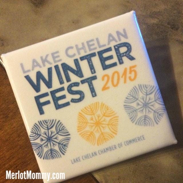 Lake Chelan Winterfest Button