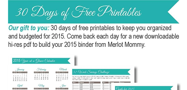 30 Days of Free Printables: Travel Checklist