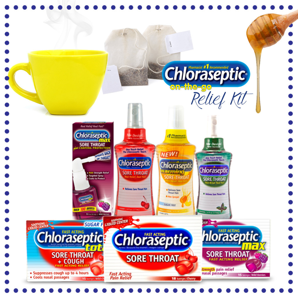 Chloraseptic On-The-Go Relief Kit