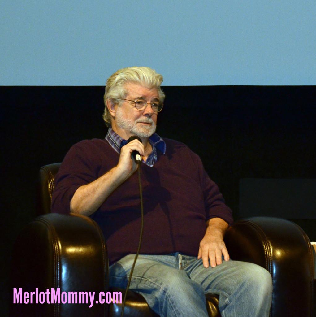 Exclusive George Lucas Interview / Q&A about Strange Magic #StrangeMagicEvent