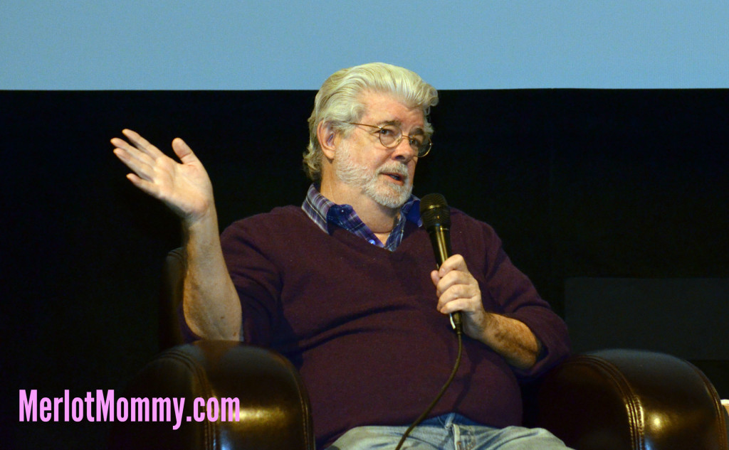 Exclusive Interview with George Lucas about Strange Magic #StrangeMagicEvent