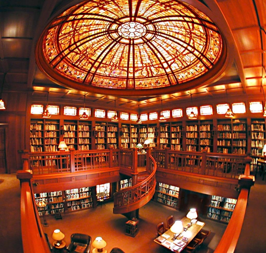 Library inside the Main House! © Lucasfilm Ltd. & TM. All Rights Reserved.