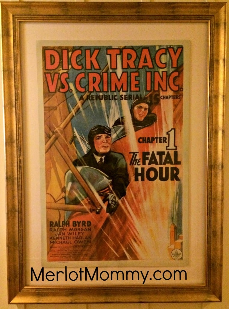 Dick Tracy Movie Poster at Skywalker Sound