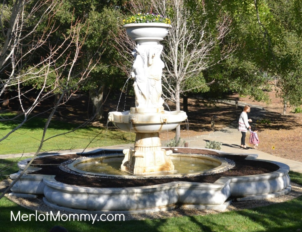 Fountain behind the Main House