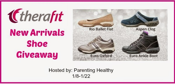 Therafit New Arrival Shoes #Giveaway ends 1/22