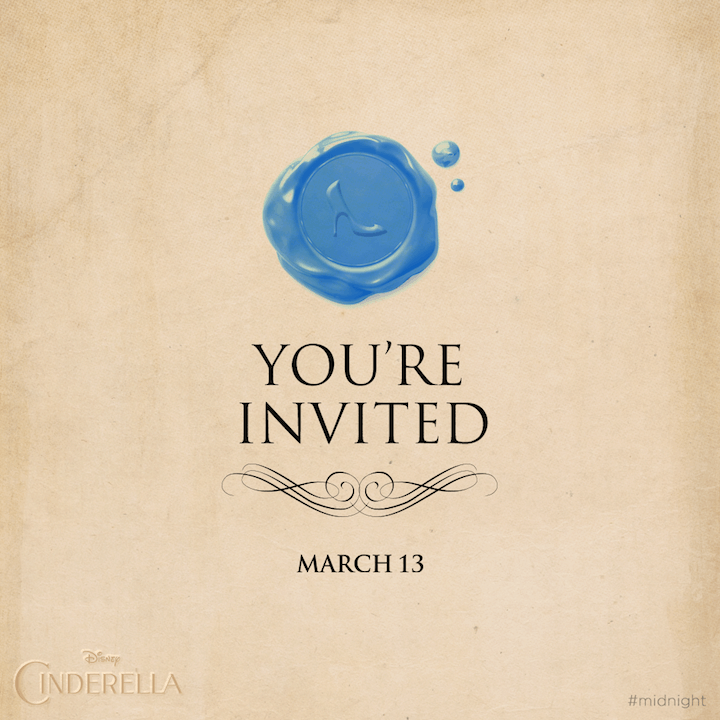 I'm invited to the Glam Ball and Red Carpet Premiere of Cinderella! #CinderellaEvent