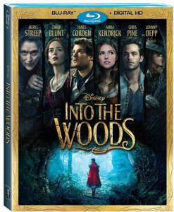 Bring home Disney's Into the Woods on Blu-Ray on 3/24 #IntoTheWoods