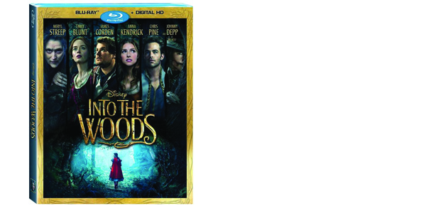 Watch Disney's Into the Woods on Blu-Ray #IntoTheWoods