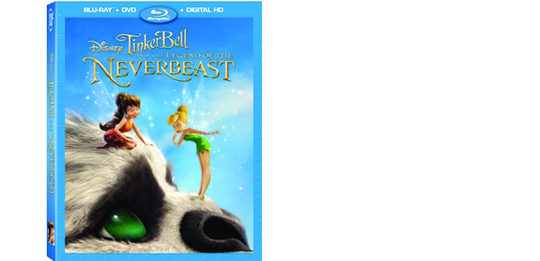 Bring Home Tinker Bell and the Legend of the NeverBeast on Blu-Ray on 3/3