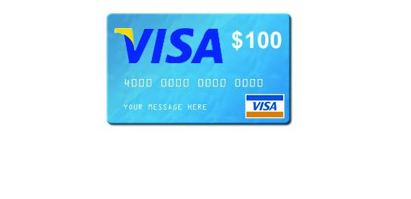 $100 Visa Gift Card #Giveaway ends 3/9