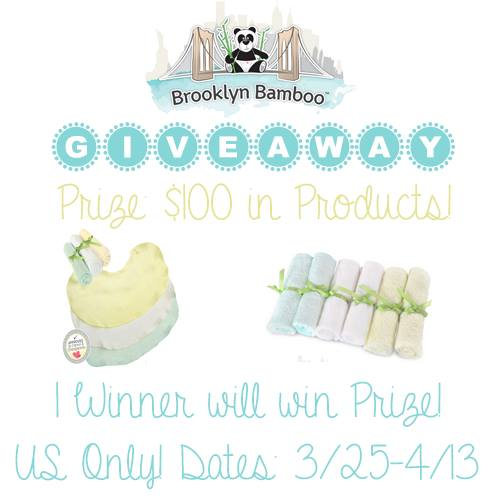 Enter to win $100 in Brooklyn Baby Bamboo Baby Product