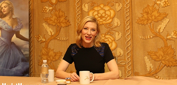 Exclusive Interview with Cate Blanchett as Lady Tremaine (the Wicked Stepmother) #CinderellaEvent