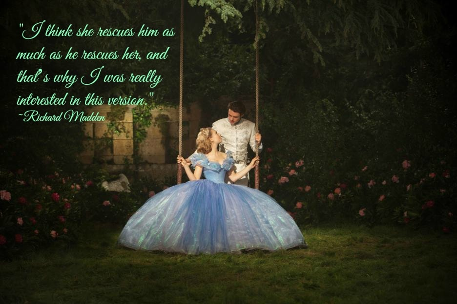 Exclusive Interview with Richard Madden as Prince Kit in Disney Cinderella #CinderellaEvent