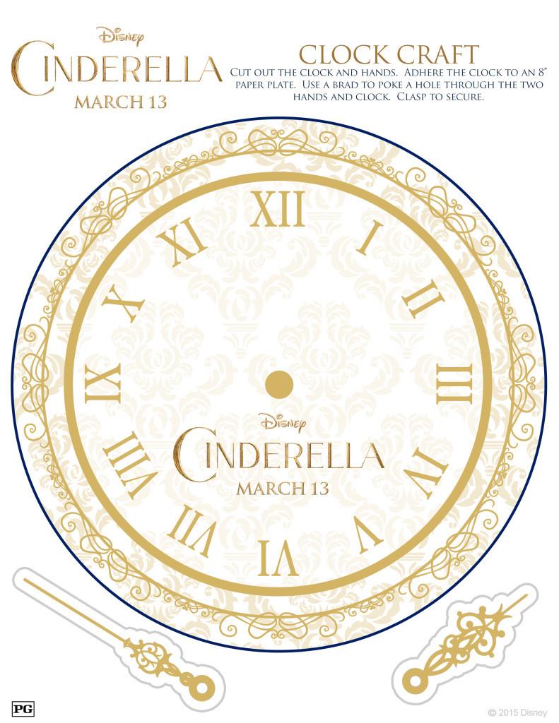Cinderella Activity Sheet #CinderellaEvent