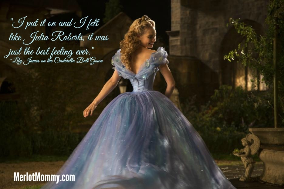 Exclusive Interview with Lily James as Ella in Disney Cinderella #CinderellaEvent