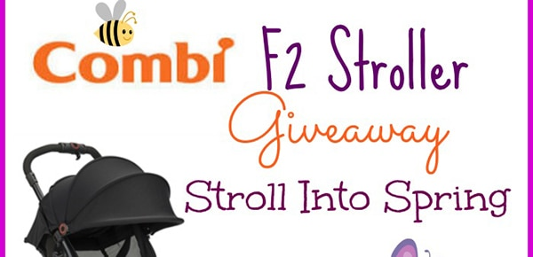 Enter to win a Combi F2 Stroller #Giveaway ends 4/8