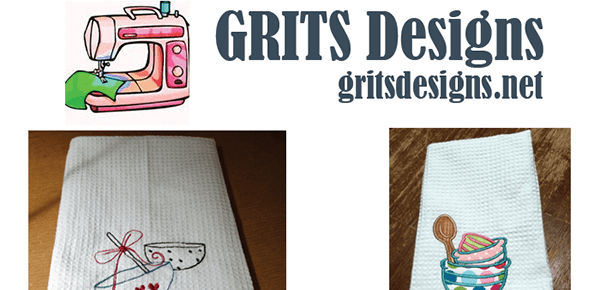 Shop GRITS Designs for All of Your Custom Embroidery and Gifts
