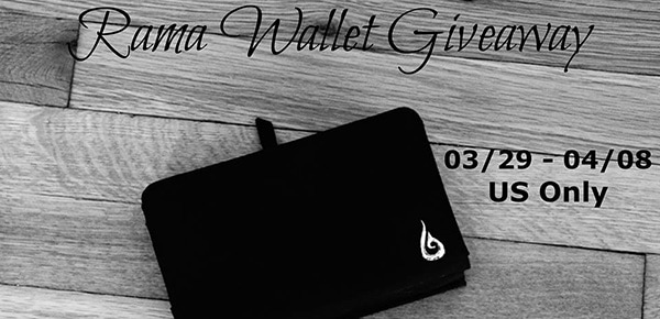 Enter to win a Rama Wallet #Giveaway ends 4/8