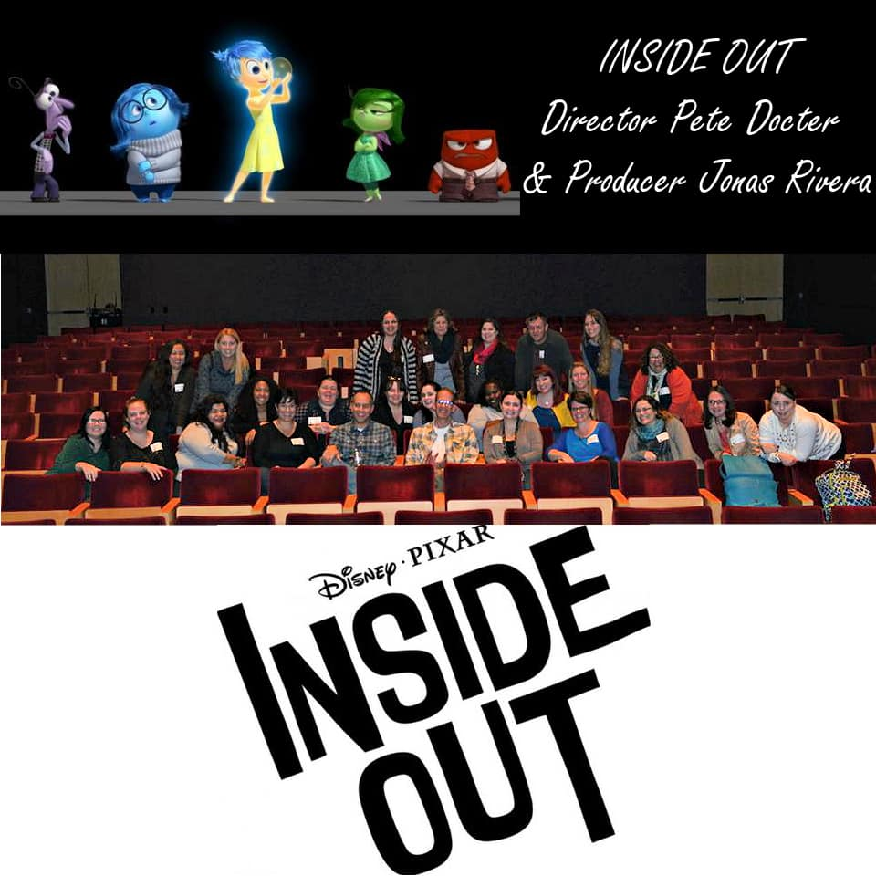 Exclusive PIXAR ANIMATION STUDIOS Tour and INSIDE OUT and LAVA Sneak Peak #PixarInsideOut