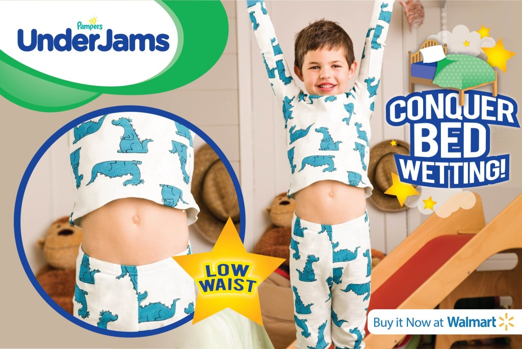 Pampers Underjams Help #ConquerBedWetting With Confidence #Sponsored