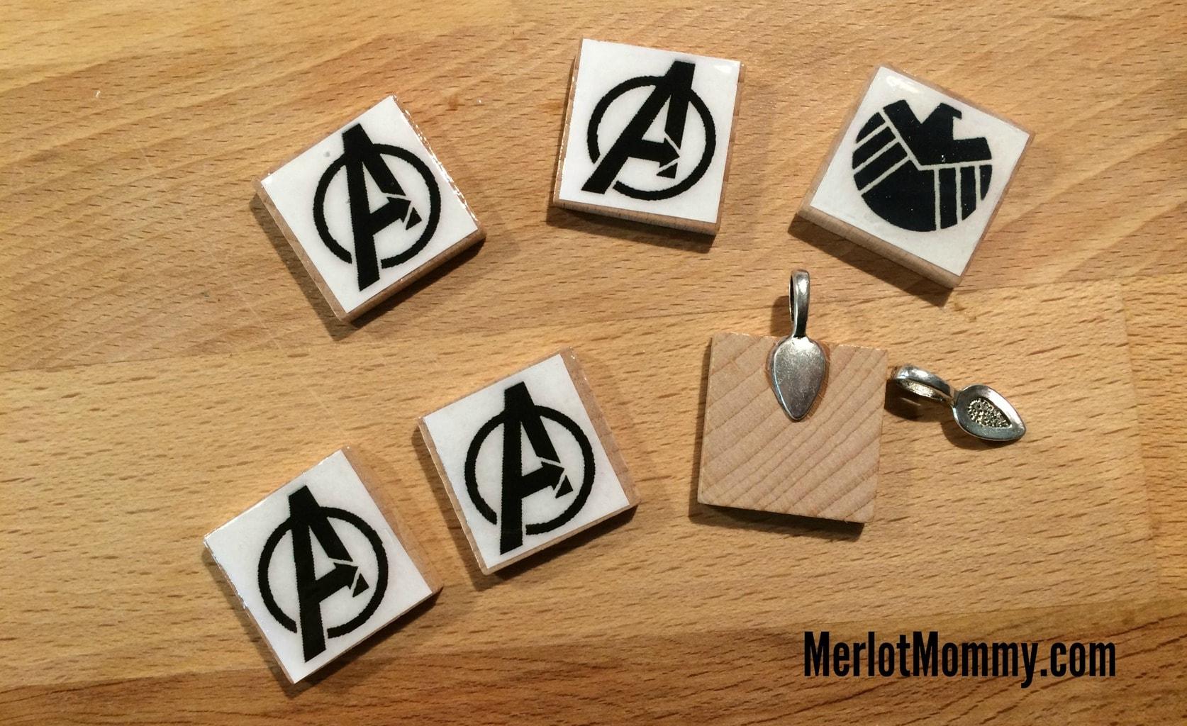 DIY Scrabble Tile Necklace Pendants #AvengersEvent #AgentsofSHIELD ...