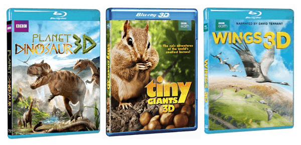 Enter to Win a Set of 3 BBC Earth 3D Blu-Rays #Giveaway ends 4/28