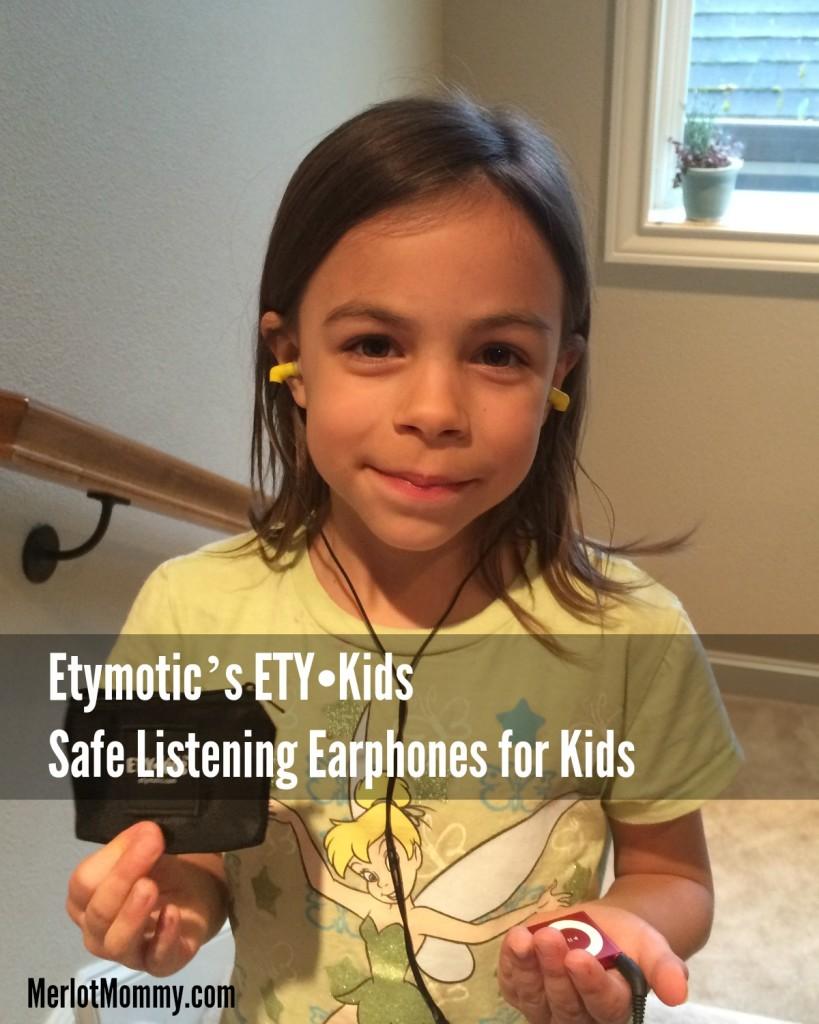 Etymotic's ETY•Kids Safe Listening Earphones for Kids
